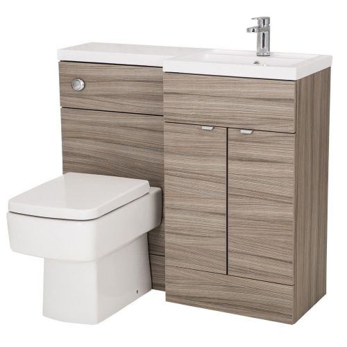 Elite Driftwood 1000mm Combination Furniture Pack - Right Hand